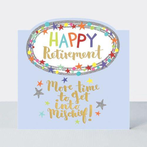 happy retirement card more