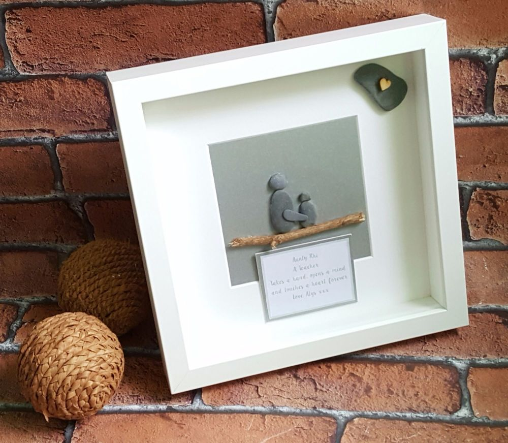 childminder pebble art box frame