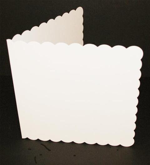5x5 cards envelopes scalloped