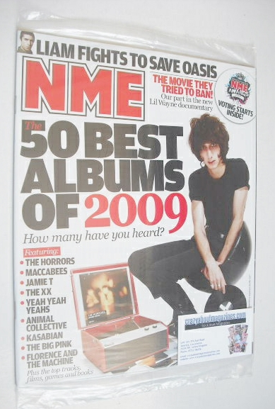 Nme Magazine  The 50 Best Albums Of 2009 Cover (12