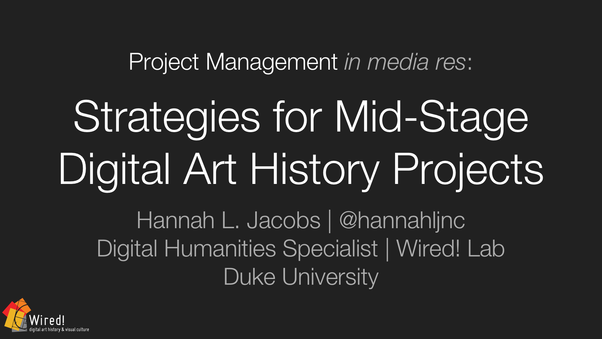 Caa Project Management Strategies For Mid Stage Dah