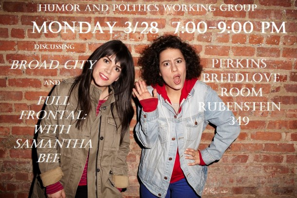 Broad City and Samantha Bee (1)