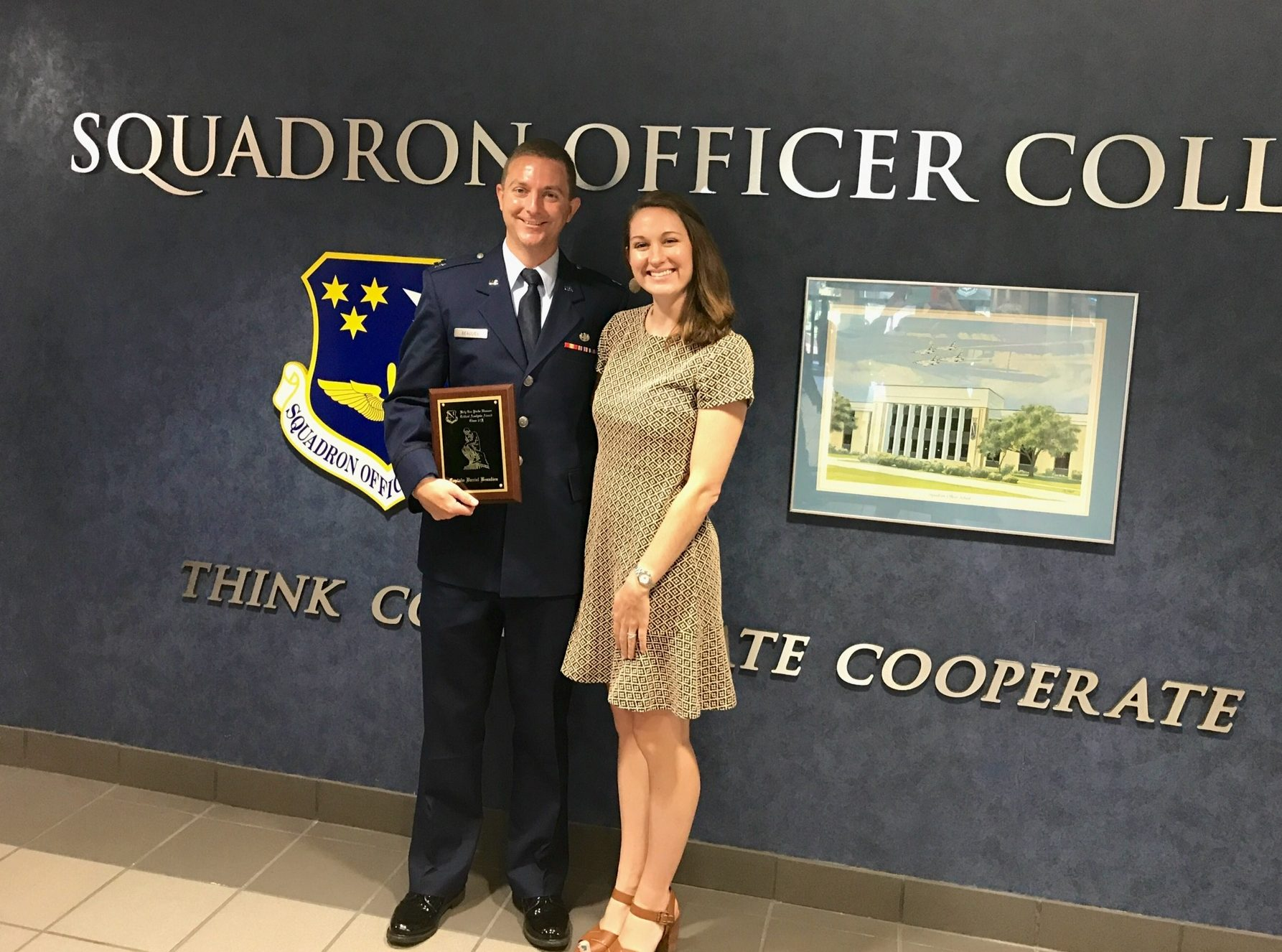 Air Force Judge Advocate (or JAG) Capt Danny Beaulieu, Duke Law Class Of  2015, Graduated From The Air Forceu0027s Squadron Officersu0027 School (SOS) As A  ...