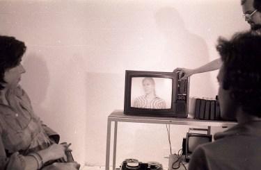 1975. Bill Viola lecture. Florence. Edinburgh Arts 1975.