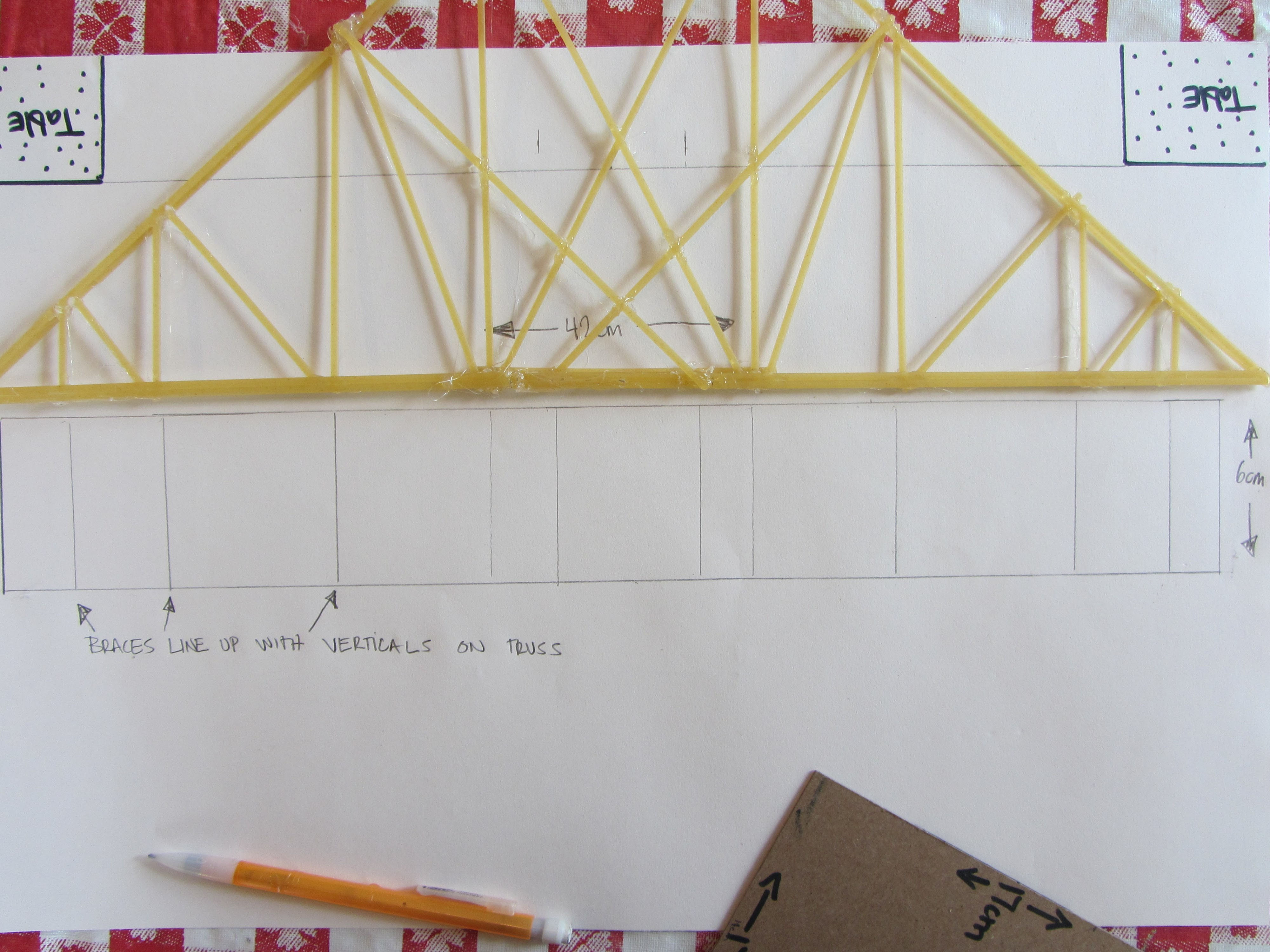 How To Build A Pasta Bridge WD STEM