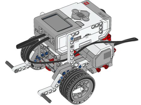 樂高EV3機器人 – 簡易雙馬達機體範例 – CAVEDU教育團隊技術部落格