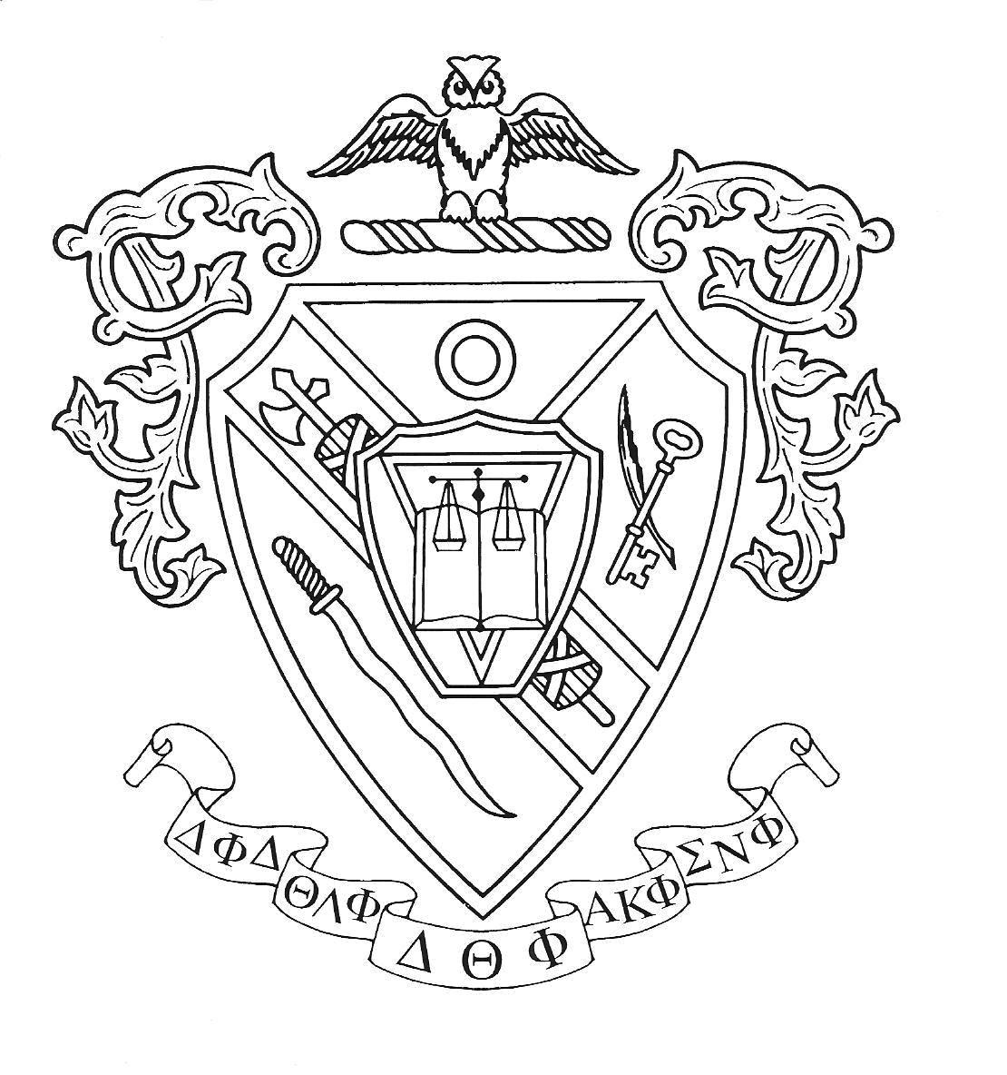 Crests Outline