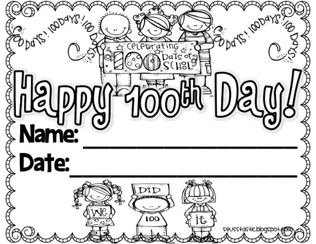technology rocks. seriously.: Celebrating the 100th Day of