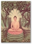 the picture of Shakyamuni Buddha