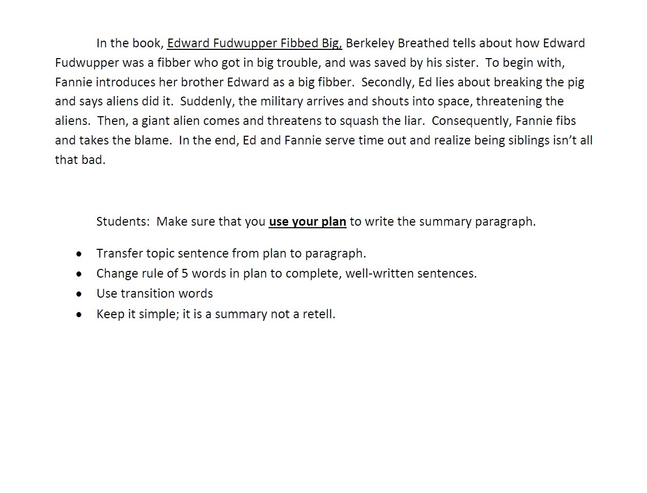How To Write A Simple Summary 3 Resume Summary Examples