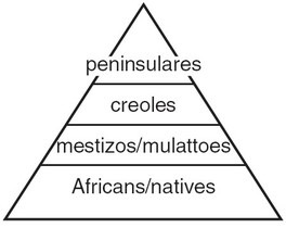 system ap latin social america class structure 1750 hierarchy spain rigid c11 chart creoles charts persian 1900 italian creole right