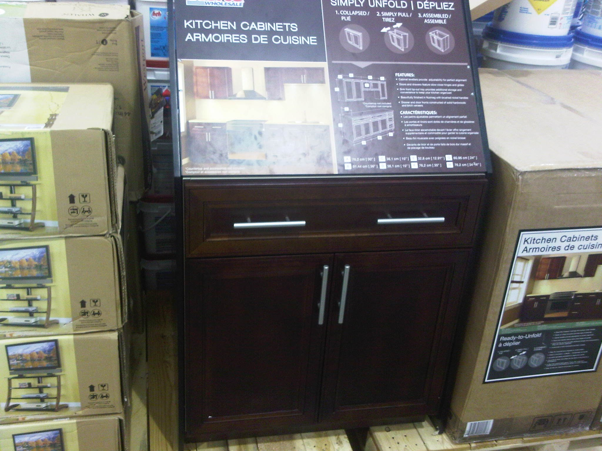 real wood kitchen cabinets costco utilities more reno deals bundle