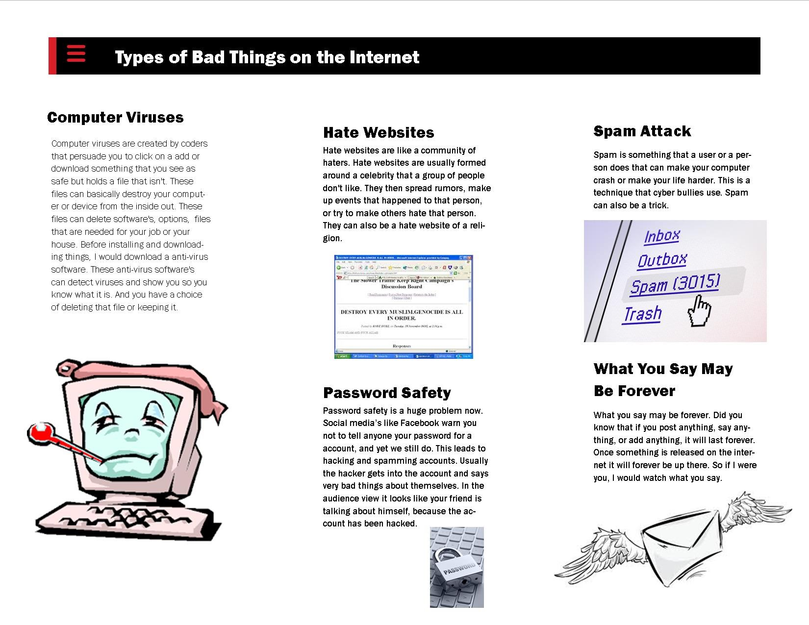 Internet Safety Brochure Lewis Peters CMS8