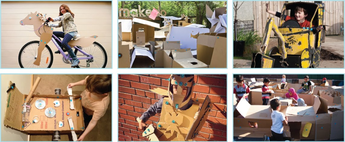 Cardboard Challenges KM Makerspace