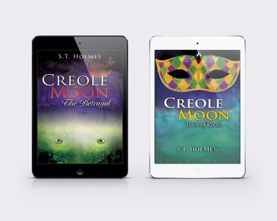 creole moon kindle cover