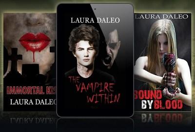 immortal kiss series book covers