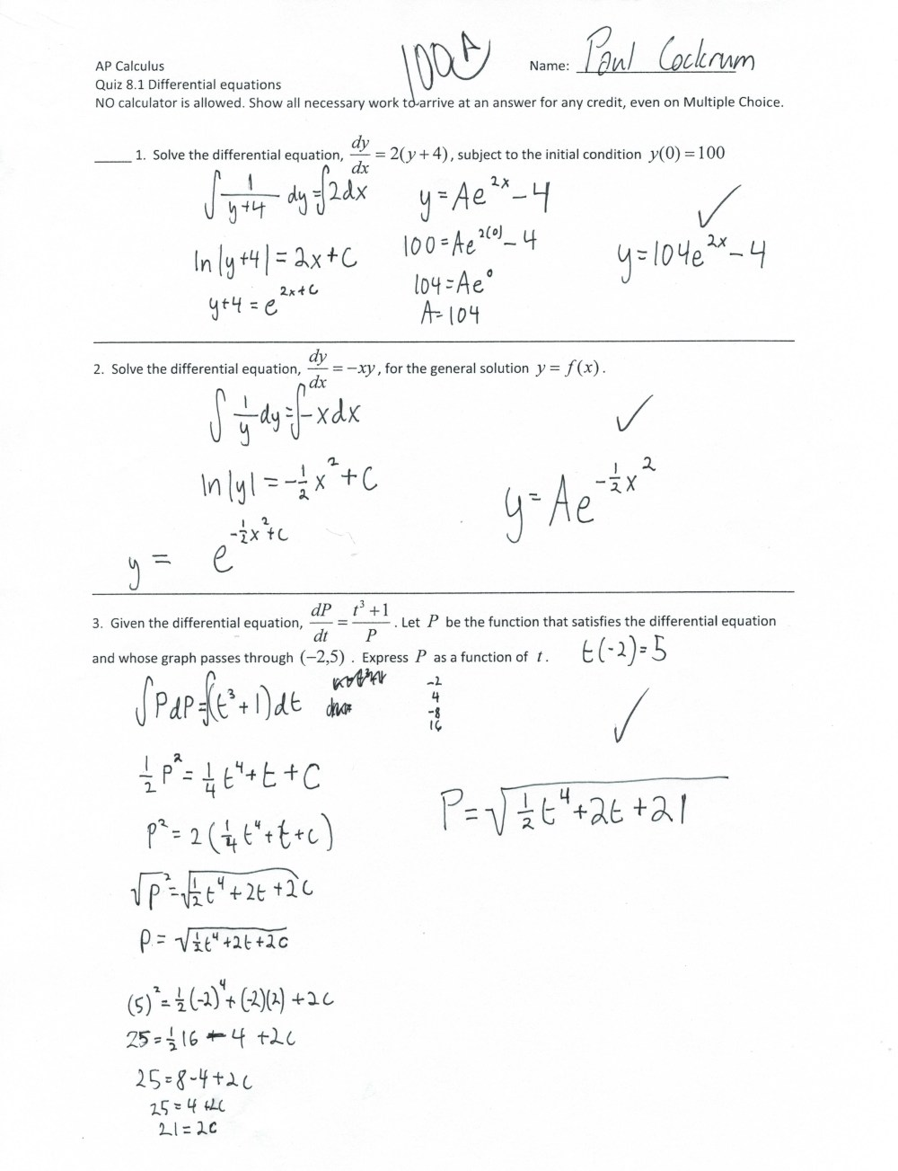medium resolution of Ap Calc Bc Worksheet   Printable Worksheets and Activities for Teachers