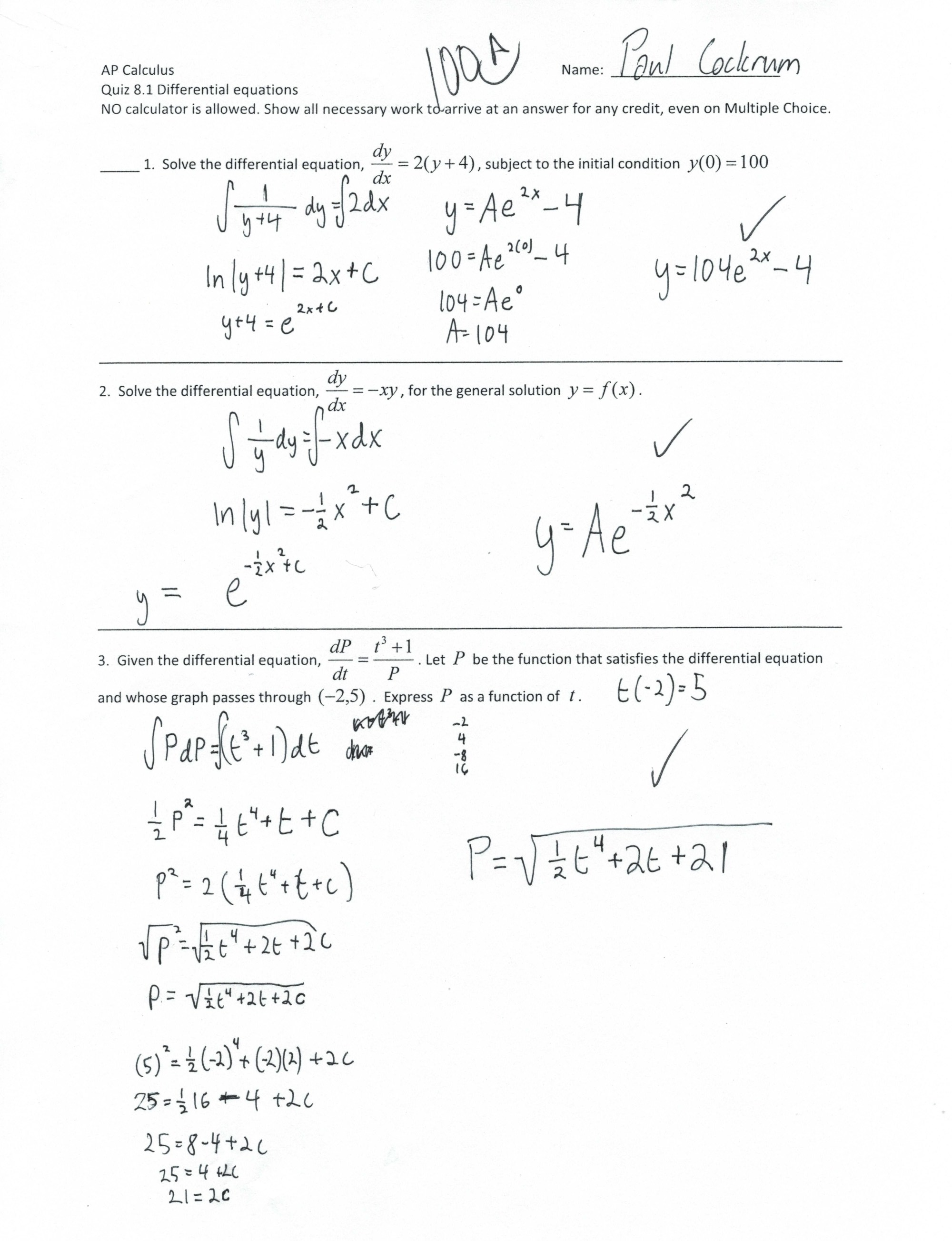 hight resolution of Ap Calc Bc Worksheet   Printable Worksheets and Activities for Teachers