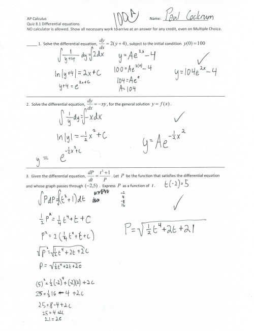 small resolution of Ap Calc Bc Worksheet   Printable Worksheets and Activities for Teachers