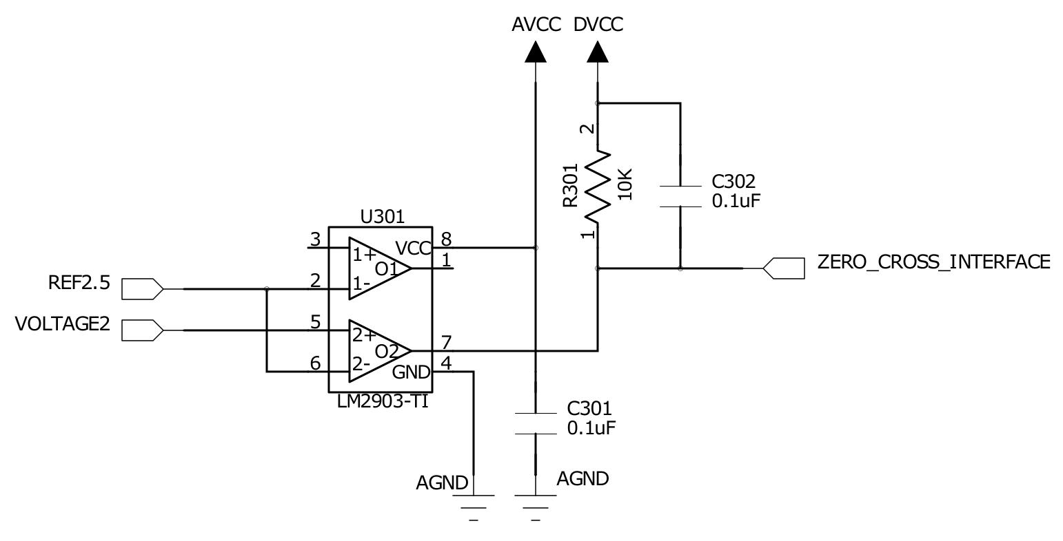 hight resolution of 4 1 3 zero crossing detectorschematic of the zero crossing detector circuit