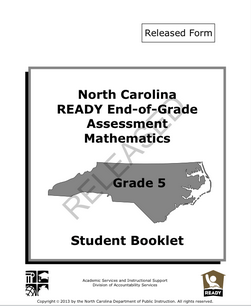 Released Tests for NC Reading and Math EOG's & NC Final Exams (Science and Social Studies) - Mrs. Burleson/Scaffe's AIG Page