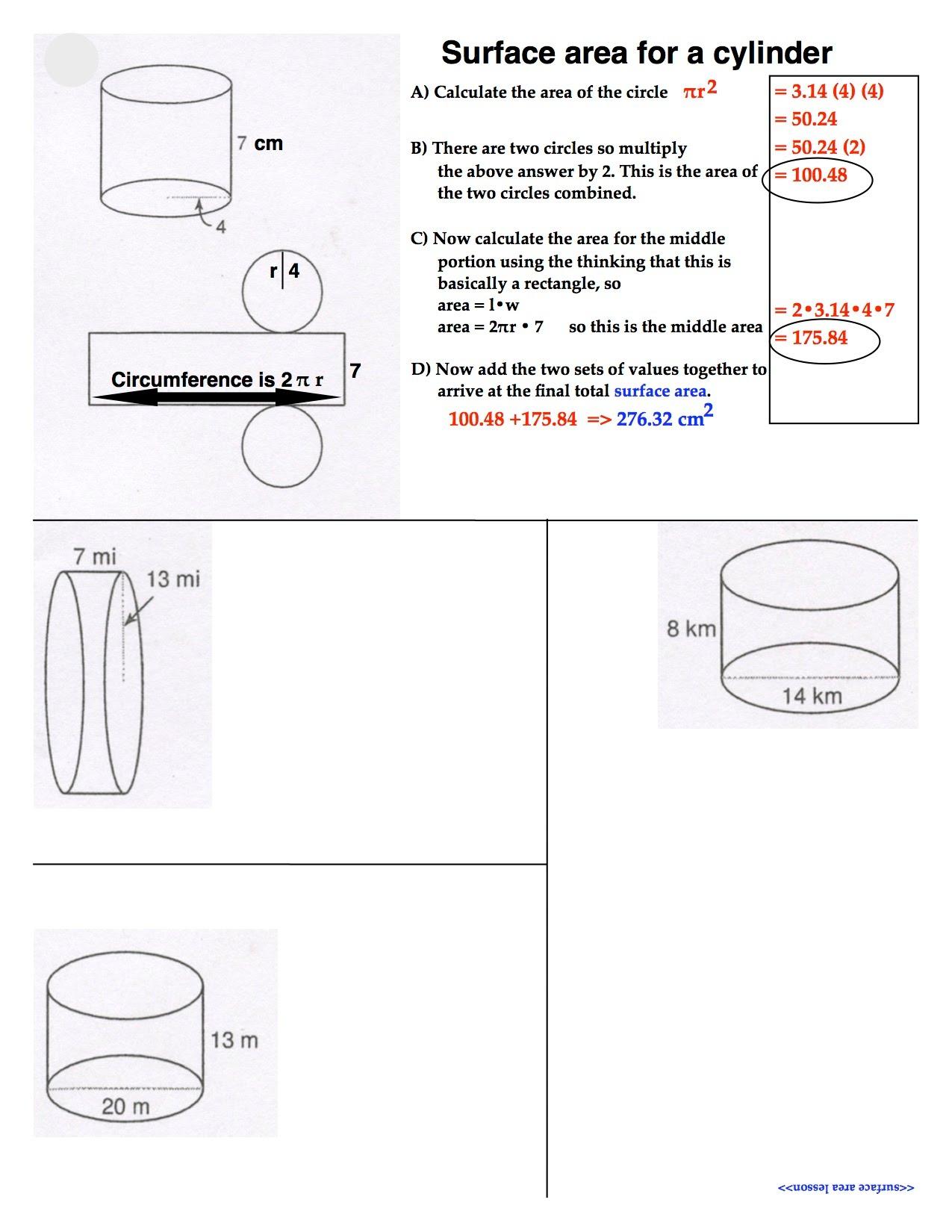hight resolution of SURFACE AREA - MATH 8 RSU#2