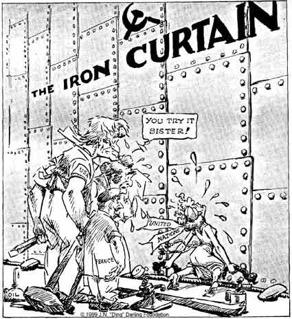 Michelle  Iron Curtain  Causes of the Cold War