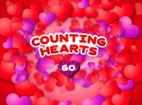 Counting hearts with many hearts around it