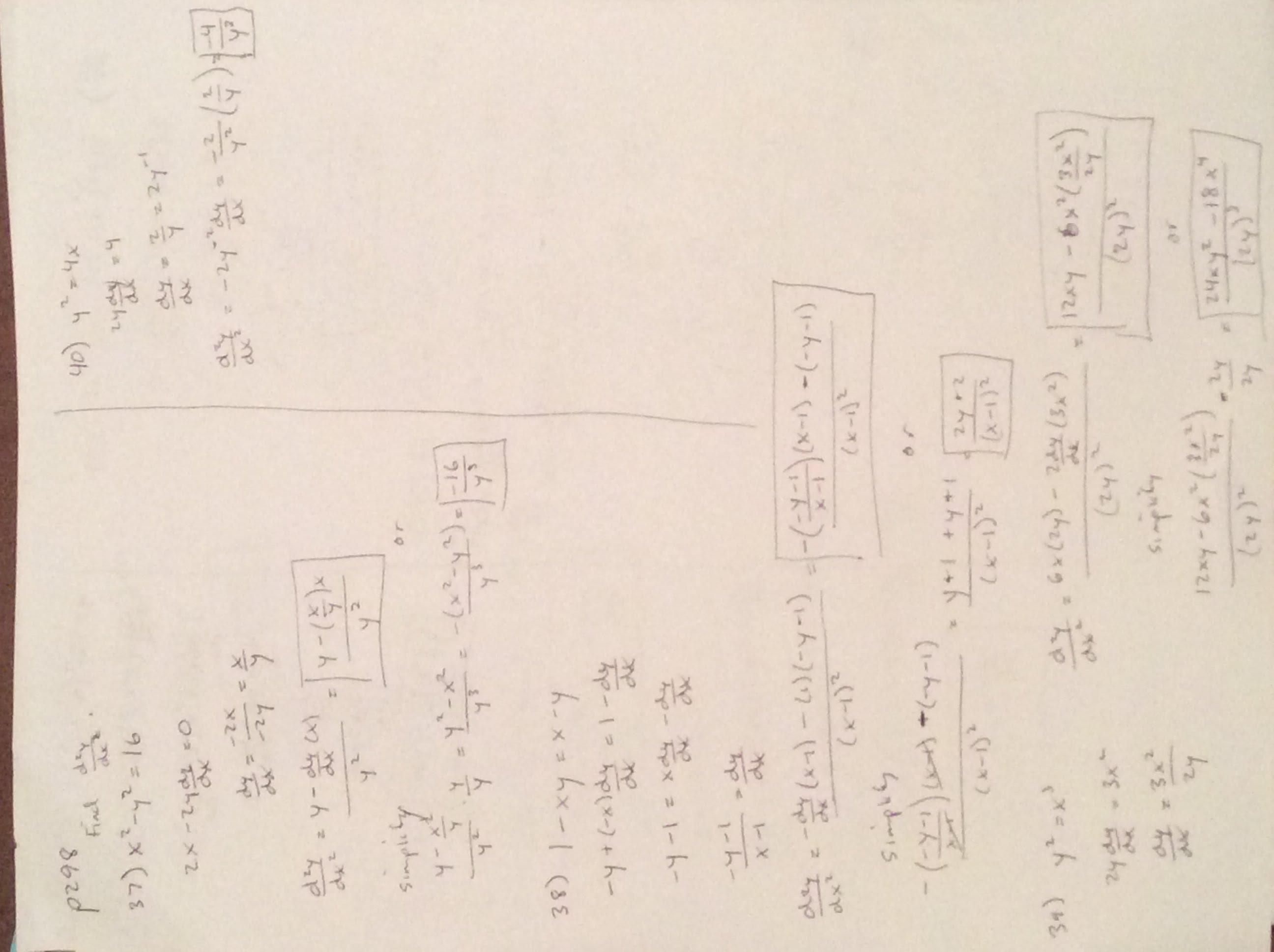 Pre Calc Assignments