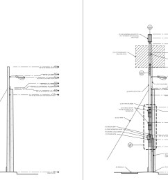 left image is original light pole right image is light pole w extension electronic boxes added example of 2018 proposed cell tower [ 1474 x 1020 Pixel ]