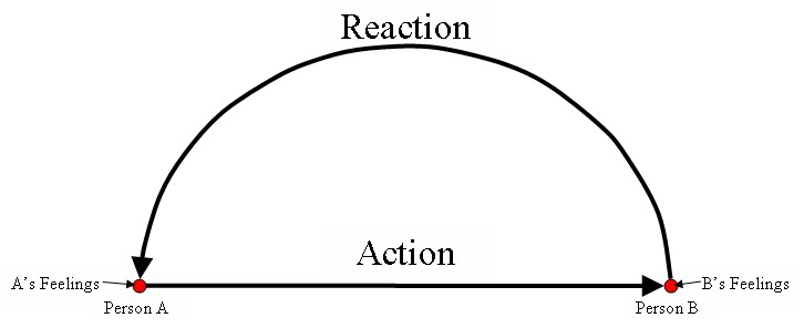 Action-Reaction Theory