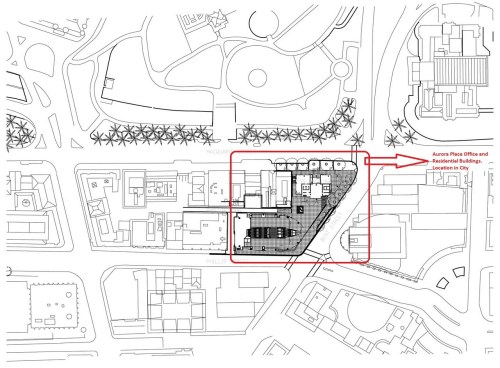 small resolution of first floor plan location of official commercial residential buildings and canpoy