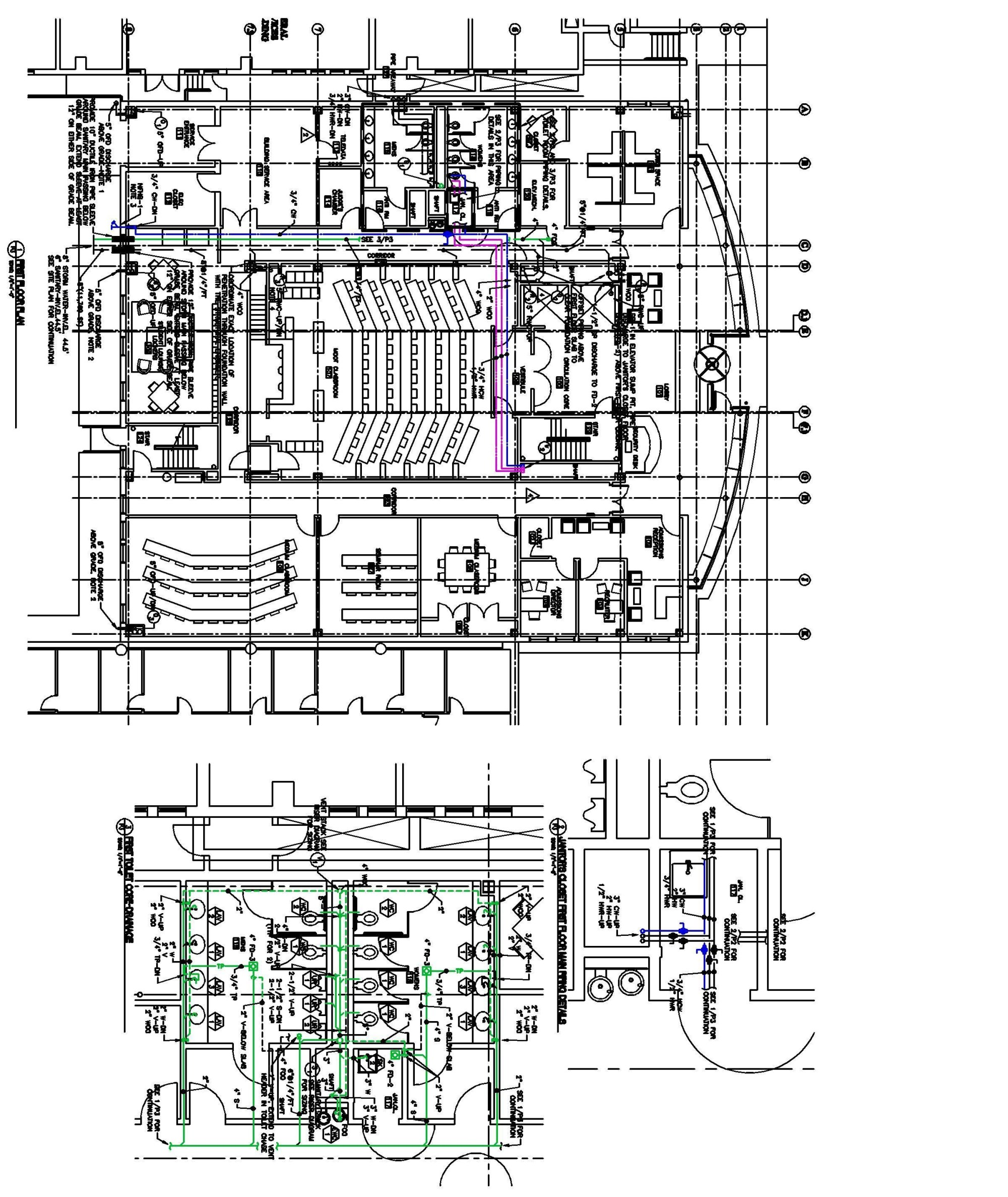 hight resolution of hvac plumbing gsb building hagerty library law school first floor second floor third floor and fourth floor