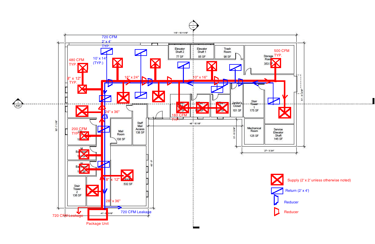 simple hvac schematic diagram [ 1230 x 799 Pixel ]