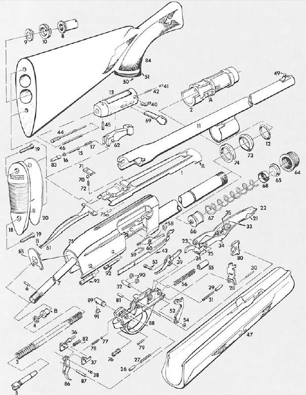 Remington 1100 Diagram Pictures to Pin on Pinterest