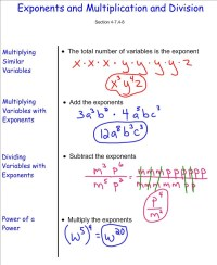All Worksheets  Multiplying Exponents With Different ...