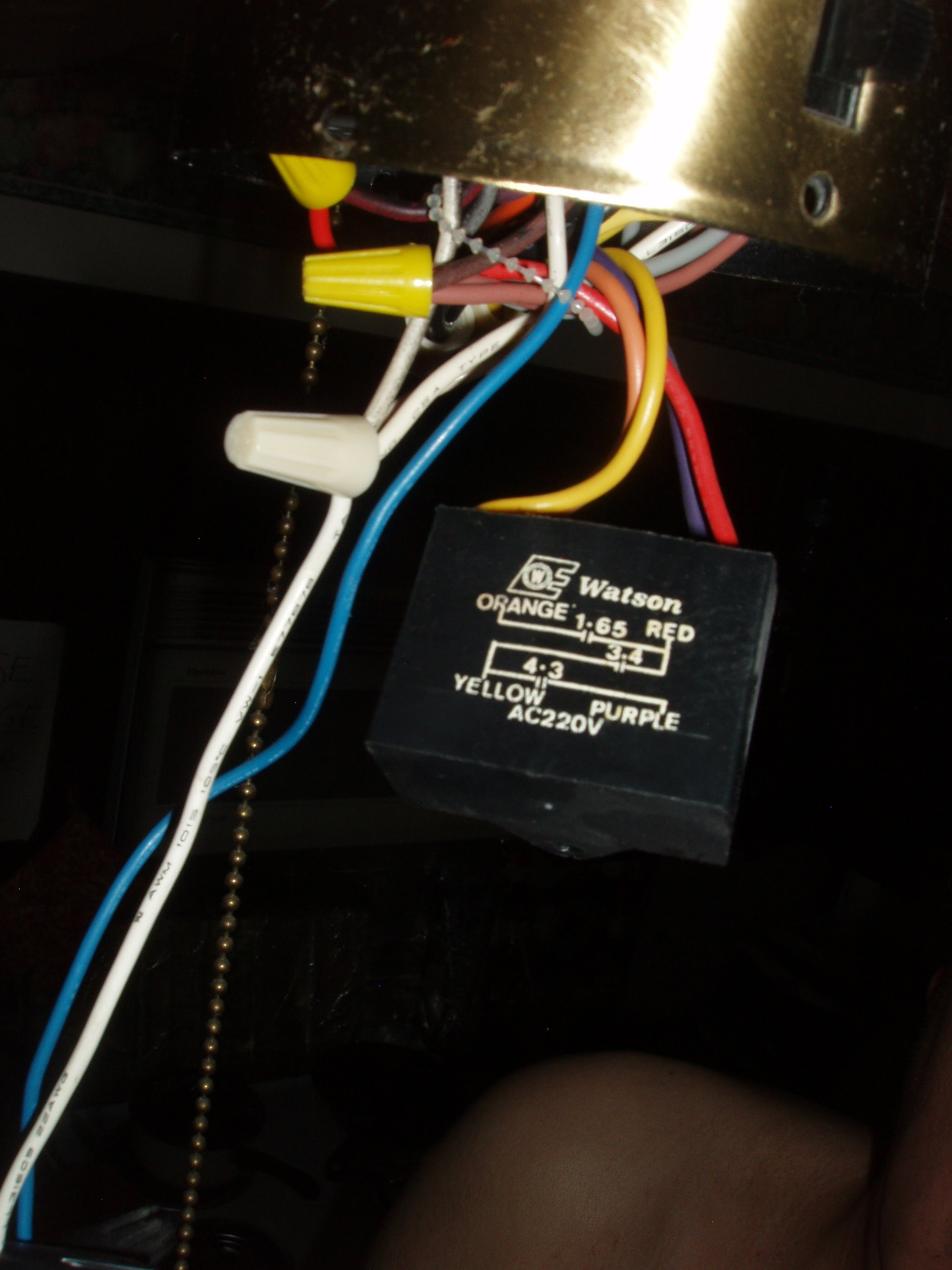How To Discharge Fan Capacitor