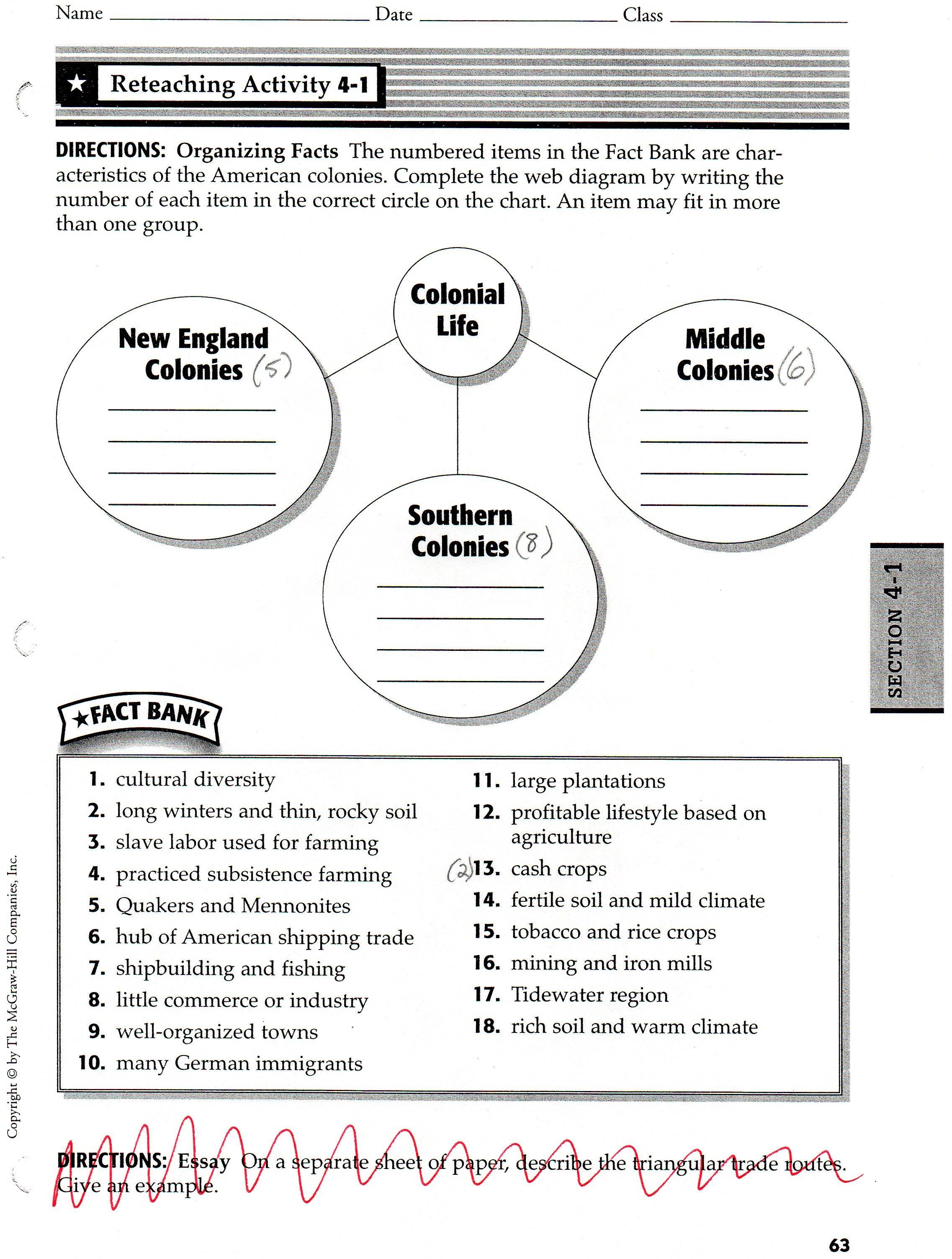 Culture Traditions Worksheet