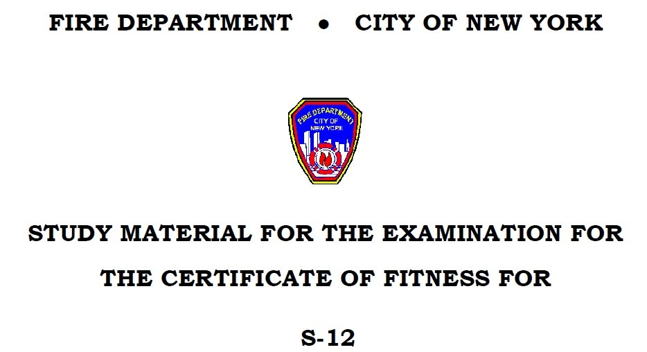 FDNY Standpipe Manual