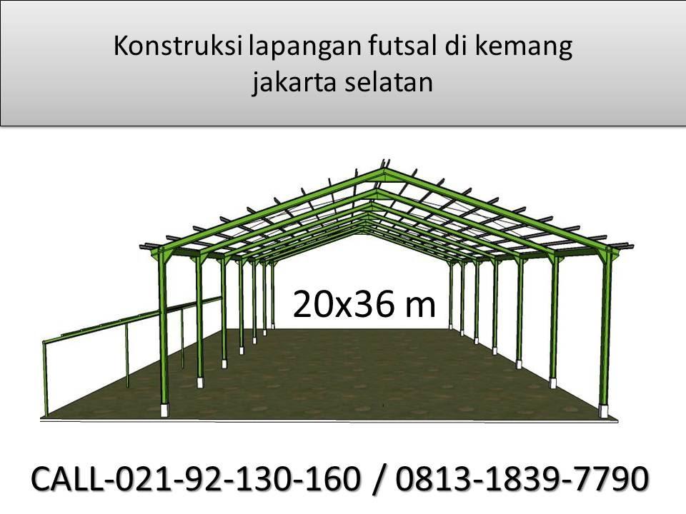 lapangan futsal  gonDUT Konstruksi baja wf