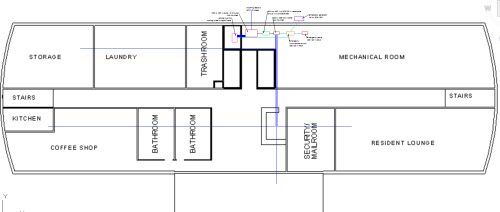 small resolution of below is a close up of the first floor below is the electrical single line diagram