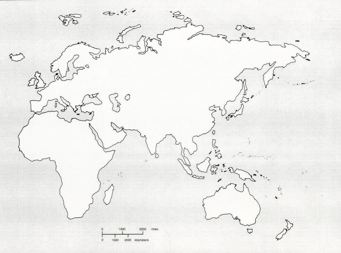 Western Hemisphere Map Printable That Are Playful