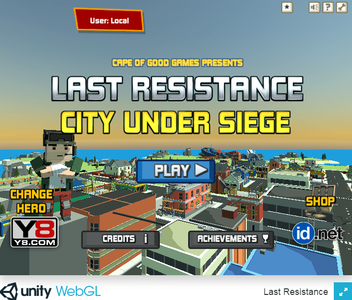 Last Resistance City Under Siege Game Hacked Unblocked