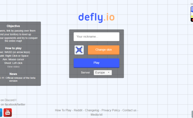 Defly Io Unblocked Games Online Free