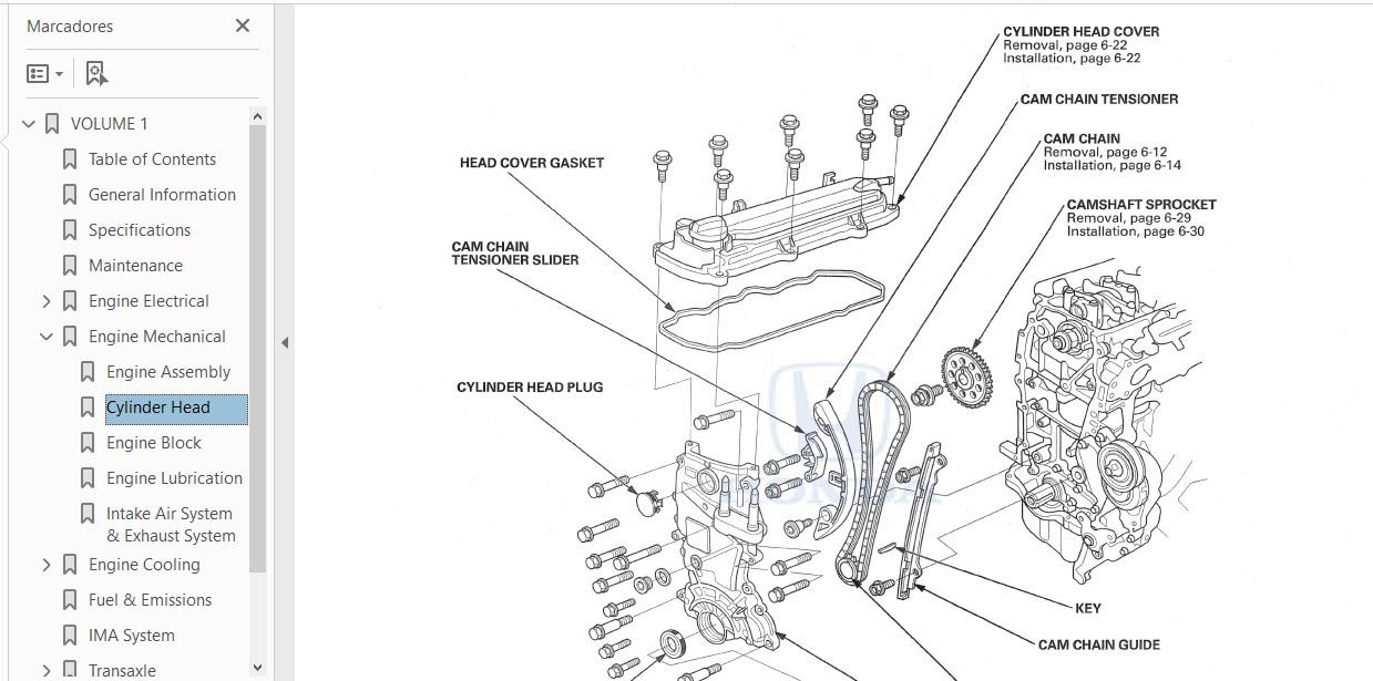 HONDA CRZ 2012 SERVICE MANUAL
