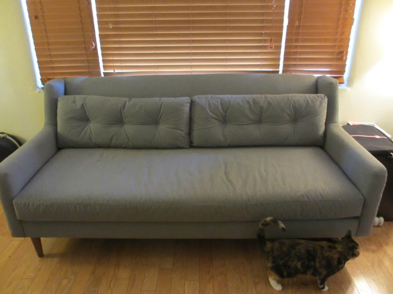 west elm crosby chair oxo seedling high cover mid century sofa - stuff for sale