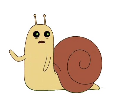 Snails Its Adventure Time