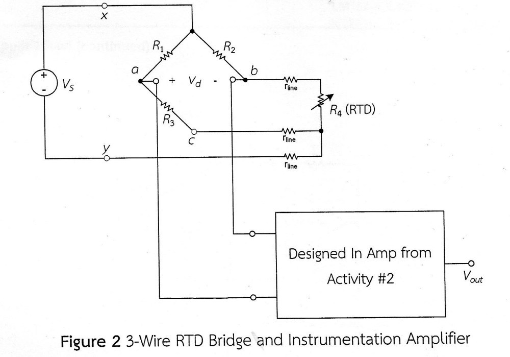 medium resolution of build the circuit in figure 2 by soldering all devices except the rrtd on the stripboard