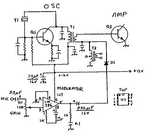 Low Power Radio: Three simple AM transmitter plans for