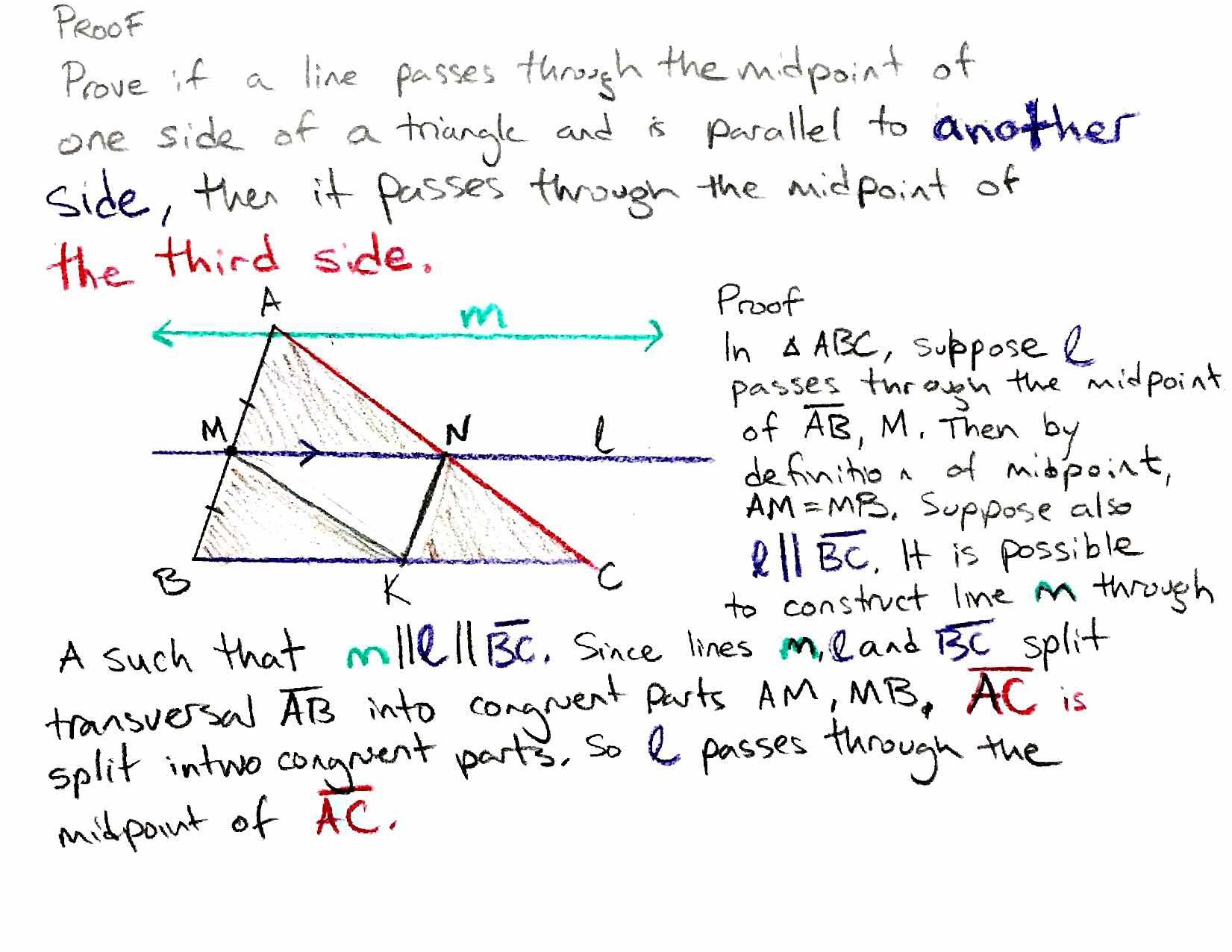 Geometry Help Proofs Triangles